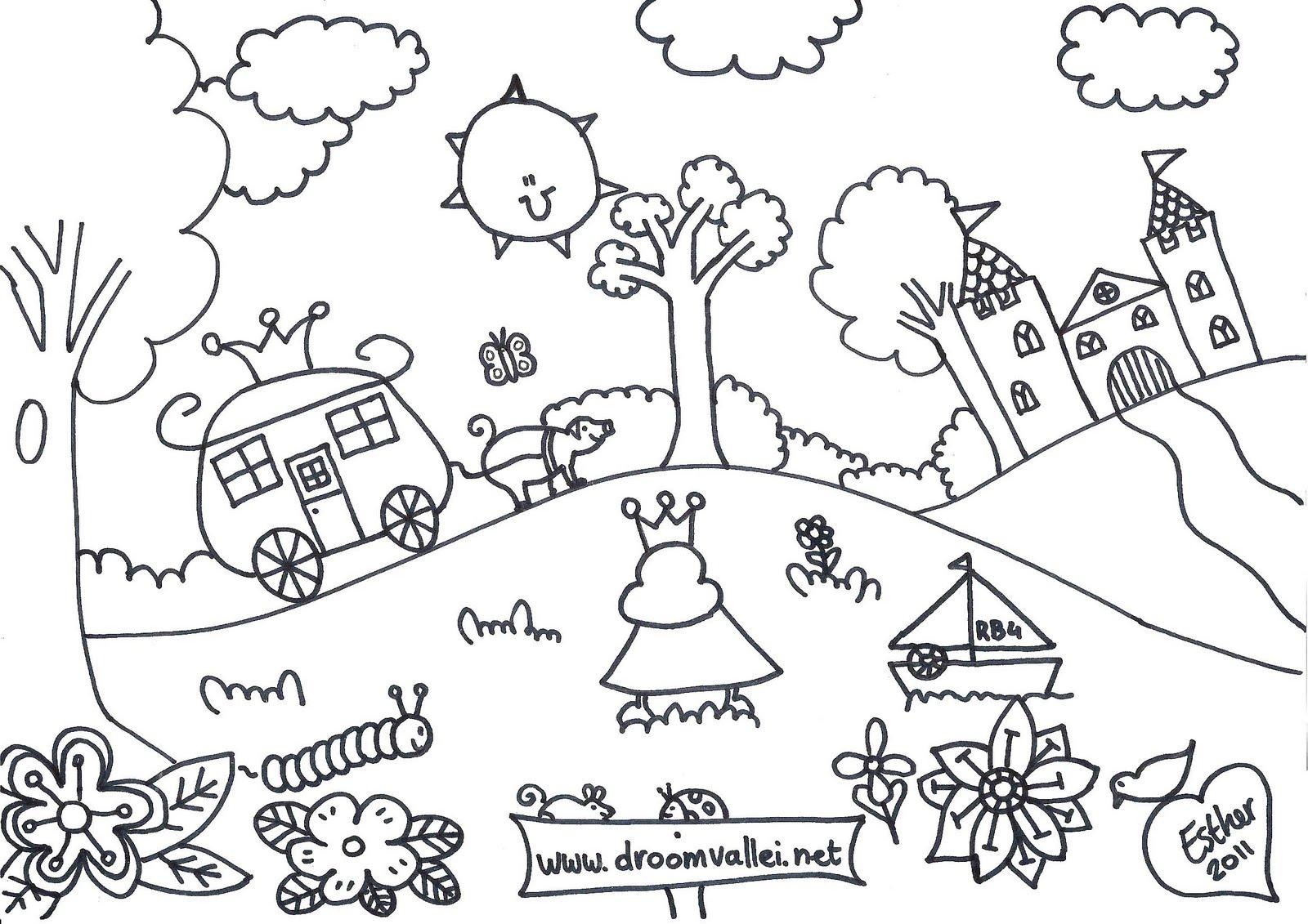 Tekenen Pagina 2 De Droomvallei