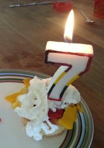 Jongste zijn taartje