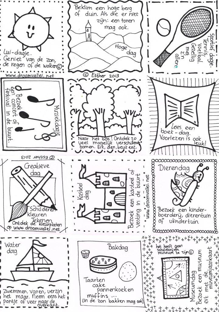 De Droomvallei - Wat zullen we vandaag eens doen - kaarten