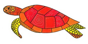 Vlek de schildpad