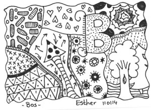 Droomvallei Zentangle