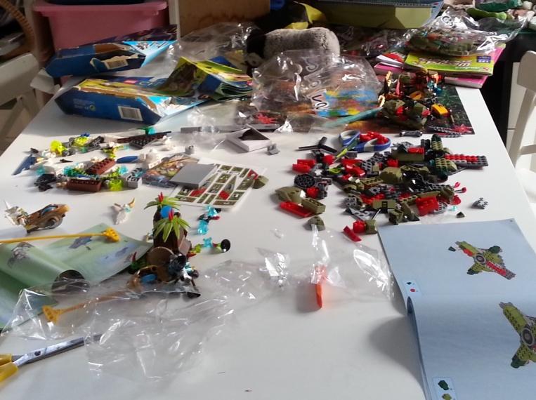 Creatief voor kinderen: lego ontdekken