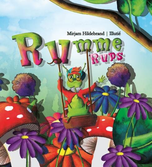 Kaft Rumme Rups uitgegeven door Droomvallei Uitgeverij