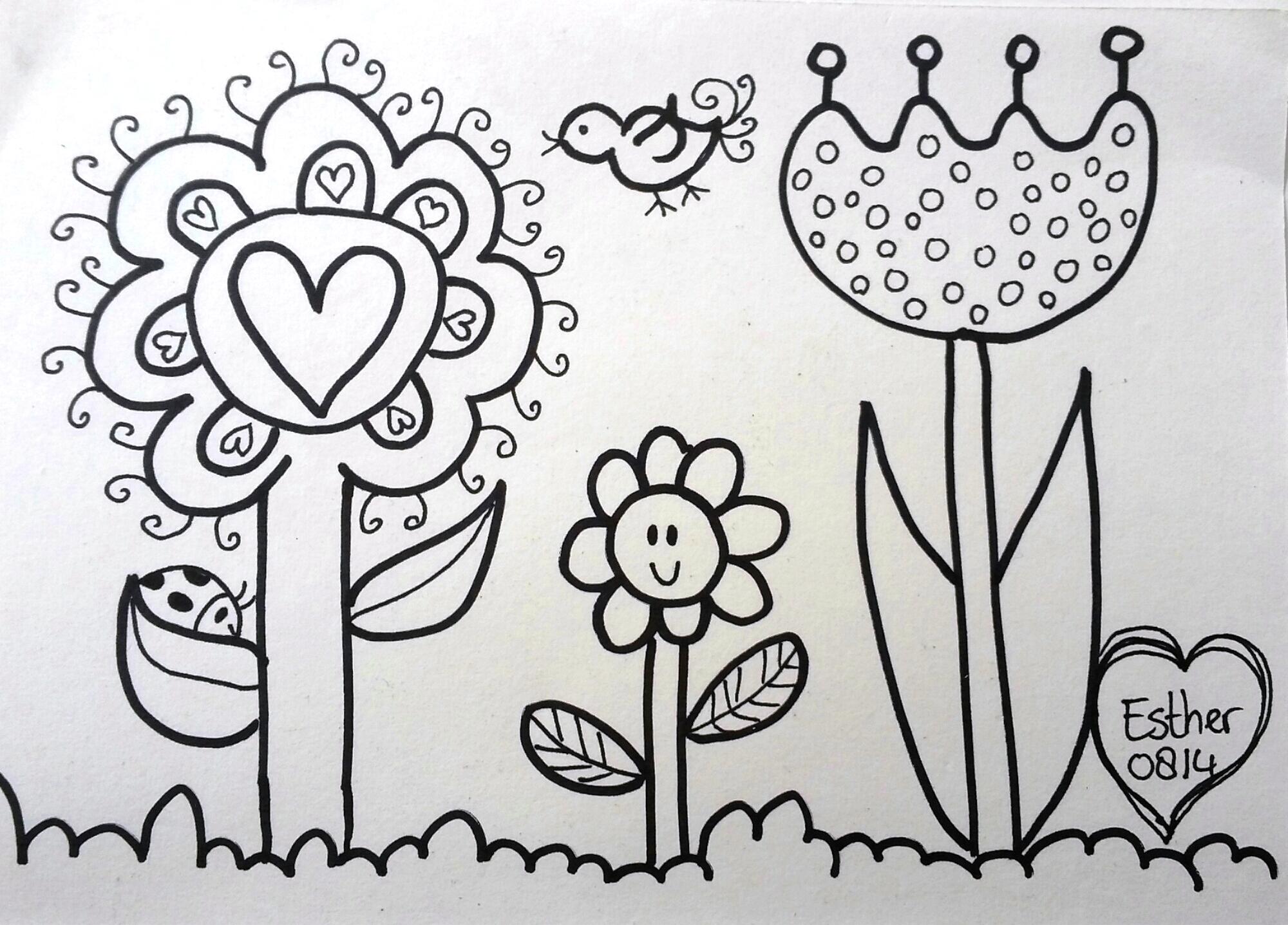 Kleurplaten Voor Kinderen Kleuters En Peuters.Kleurplaat De Droomvallei