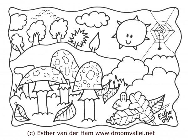 Tekenen De Droomvallei