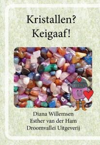"""Stoere Roeland op de voorkant van vouwboekje """"Keigaaf"""""""