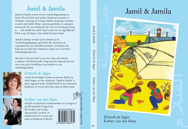 De kaft van het boek Jamil en Jamila geschreven door Elsbeth de Jager en Esther van der Ham